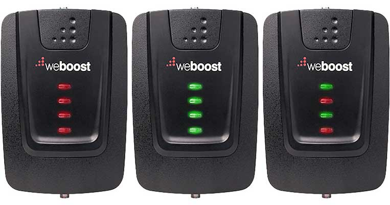 What the Blinking Lights Mean on a weBoost Signal Booster