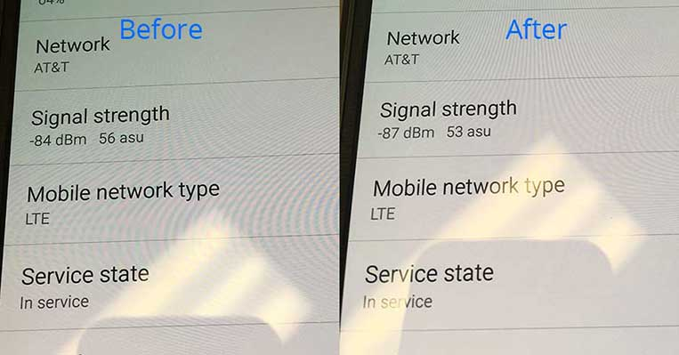 cell signal strength comparison