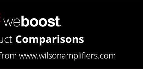 Wilson Electronics and weBoost product comparison 01