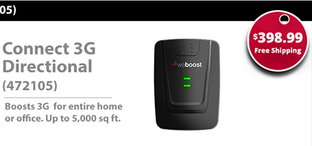 weBoost 472205 Connect 3G Directional