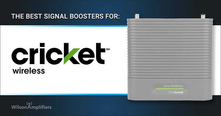 Best Cricket Wireless Cell Phone Signal Boosters